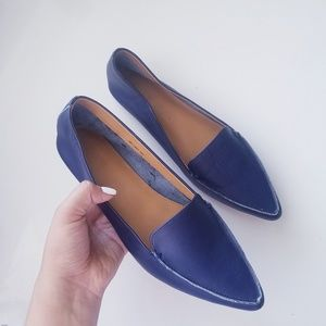 J Crew Navy Edie Loafers